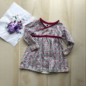 Tea Collection Wrap Dress | 2T